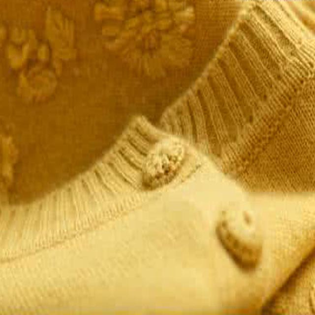 Spring cashmere sweater
