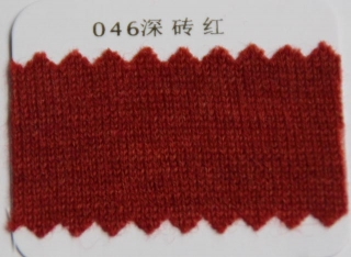 046Deep brick red