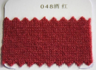 048 Wine Red Worsted Cashmere
