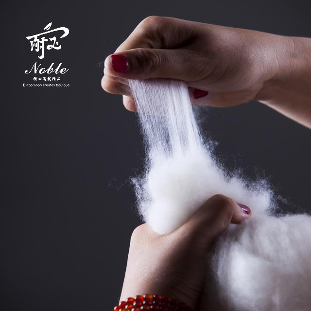 Cashmere is one of the natural fibers used in textile industry