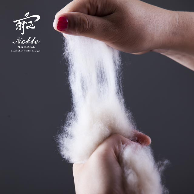According to the provisions of the national textile industry, cashmere wool fiber manufacturers where the content is wool sweaters, woolen worsted or both, are called